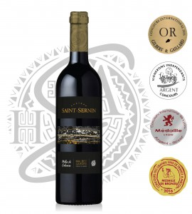Grands Vins de Cahors AOC - Malbec de calcaire - Chateau Saint Sernin -2011