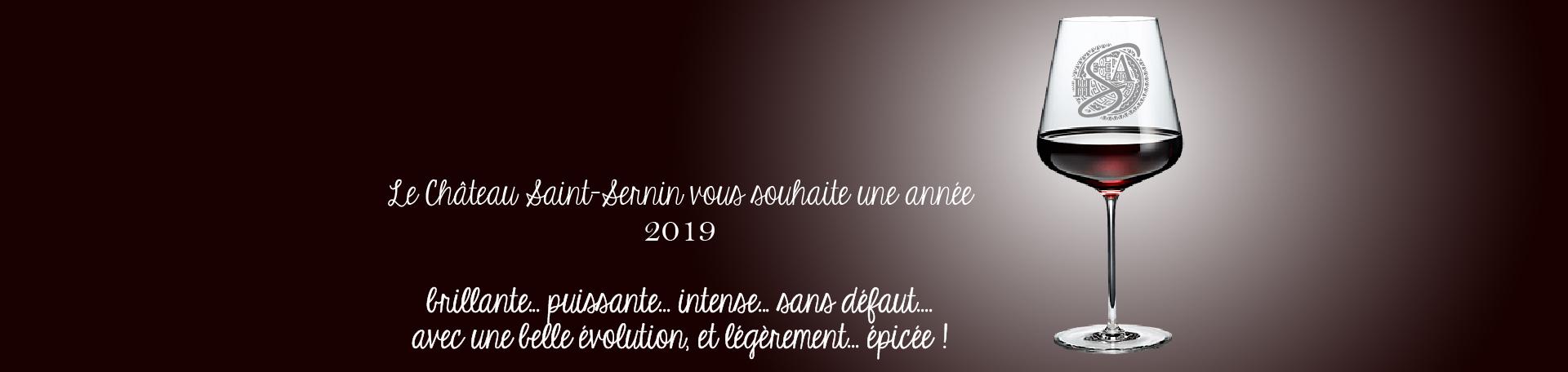 voeux 2019 Chateau-Saint-Sernin Parnac AOC Cahors
